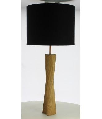 Lampe de chevet en chêne...