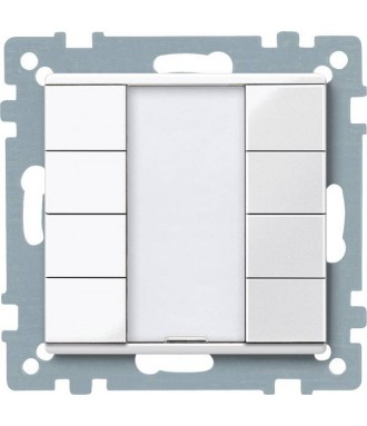 Bouton poussoir quadruple KNX