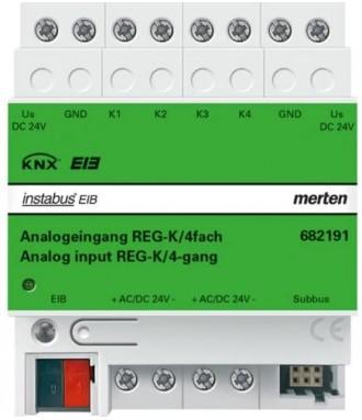 4x Entrée analogique KNX...