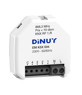 4 Channels KNX RF Interface...